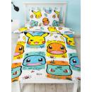 groothandel Home & Living: Pokemon Duvet cover - Rocks White