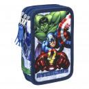 mayorista Material escolar: Avengers Estuche para lápices relleno Marvel - Azu
