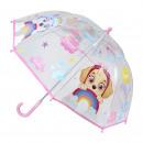 Paw Patrol Regenschirm transparent