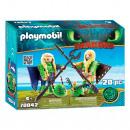 Playmobil Scum és Morrie repülőruhában