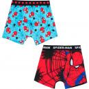 wholesale Fashion & Apparel: Spiderman 2 pack boxer shorts