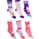 mayorista Calcetines y Medias: Peppa Pig 3 paquete de calcetines