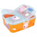 Peppa Pig Wielokomorowe pudełko na kanapki - Pomar