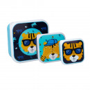 Caja snack (3 en 1) - Tiger