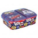 Mickey Maus Sandwichbox mit mehreren Fächern - hey