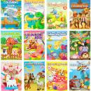 Malbücher für Kinder 72x A4 Lot A
