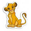 Lion King Velours Forme Coussin - Simba