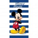 nagyker Fürdő- és frottír termékek: Mickey Egér strandtörölköző csíkok