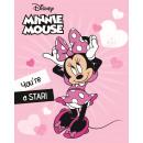 Minnie couverture polaire personnage Tu es une sta