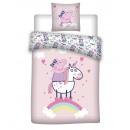 groothandel Bedtextiel & matrassen: Peppa Pig Duvet cover Flannel Unicorn