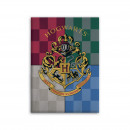 Coperta in pile Harry Potter Hogwarts