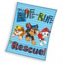 Paw Patrol couverture polaire - Rescue