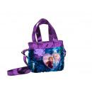 wholesale Bags & Travel accessories: frozenDisney Shoulder bag - Sequins two handles