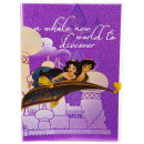 Großhandel Hefte & Blöcke: Disney Schrift Glitter Aladdin