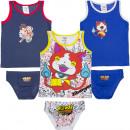 mayorista Ropa interior: Yokai Watch conjunto de ropa interior
