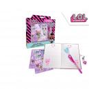 hurtownia Produkty licencyjne: Sekret LOL Surprise Notebook z magicznym ...