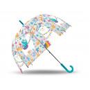 Großhandel Regenschirme: Regenschirm Transparentes Alpaka