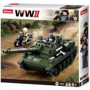 hurtownia Zabawki: Sluban Bricks Wojskowy aliancki czołg przeciwpance