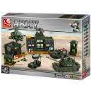 Sluban Bricks Block Toys Kwatera główna wojskowa