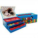 Mickey Mäuse-Malkasten mit Schublade Regenbogen