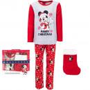 ingrosso Prodotti con Licenza (Licensing): Mickey topo pigiama Vello di corallo con Natale ...