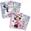 Großhandel Geschenkartikel & Papeterie: Minnie Maus Notebook mit Stickern A5 ...