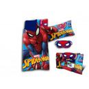 Spiderman Alvó szett piros / kék