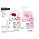 Hello Kitty hat with glove