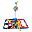 groothandel Licentie artikelen: Paw Patrol Toy Music Carpet 3 in 1 Pup Power