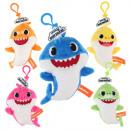 Großhandel Geschenkartikel & Papeterie: Baby Hai Schlüsselbund Plüsch