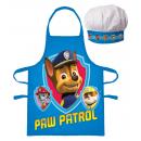 Paw Patrol Apron and hat set - Blue , PP