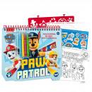 Paw Patrol Schablonenblock PAW