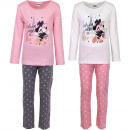 Großhandel Lizenzartikel: Minnie Maus Schlafanzug Paris