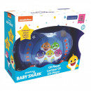 Großhandel Consumer Electronics: Baby Shark Karaoke CD-Player mit 2 Mikrofonen