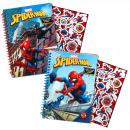 grossiste Cadeaux et papeterie: SpidermanNotebook avec des autocollants A5 ...