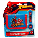 Spiderman Orologio e portafoglio Spidey