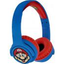 mayorista Artículos con licencia: Auriculares inalámbricos Super Mario Azul / Rojo