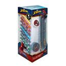 Spiderman Írószer -torony 25 db - Sárga