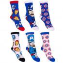 nagyker Ruha és kiegészítők:Avengers 3 csomag zokni