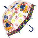 nagyker Táskák és utazási kellékek: Fireman Sam átlátszó esernyő