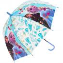 Großhandel Regenschirme: frozenDisney Regenschirm transparent 19 '