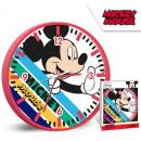 nagyker Órák és ébresztőórák:Mickey falióra 25 cm