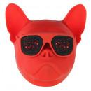 hurtownia Artykuly elektroniczne: Głośnik Wonky Monkey Bulldog - czerwony