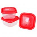 Peppa Pig Caja de bocadillos (3 en 1)