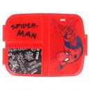Spiderman Caja de pan con varios compartimentos
