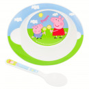 Peppa Pig Microconjunto de 2 piezas para niños peq