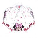 wholesale Umbrellas: Minnie transparent umbrella pink