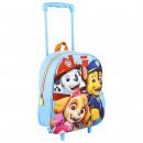 Paw Patrol 3D trolley backpack 31 cm