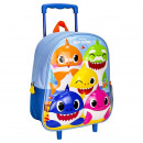 Baby Shark 3D trolley backpack 31 cm