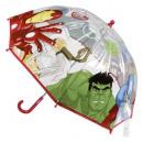Avengers parasol przezroczysty